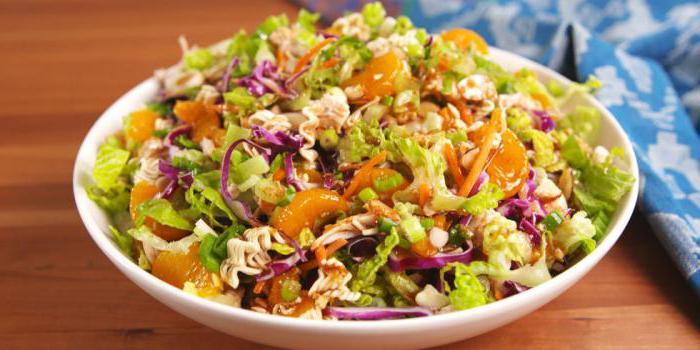 types of salads dish