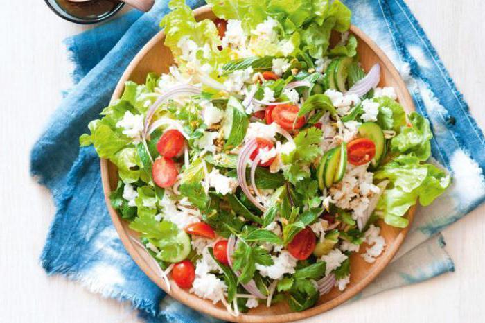 types of green salad