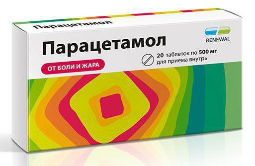 Парацетамол при беременности лечение