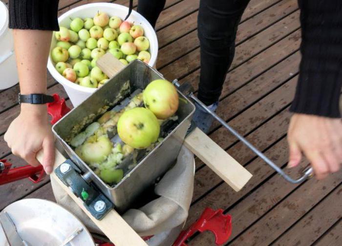 Дробилки для яблок