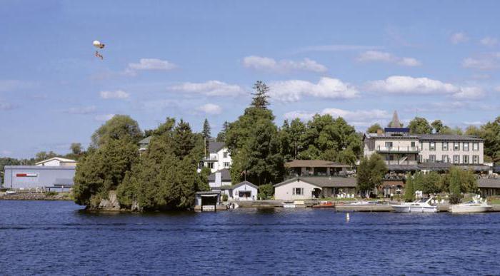 канада река святого лаврентия