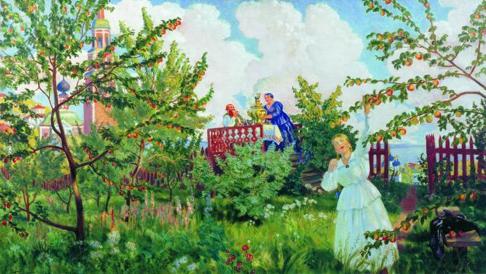Bunin Antonov apples heroes