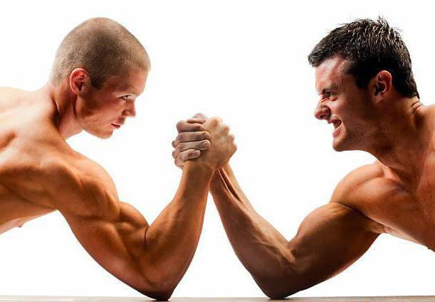 arm wrestling technique