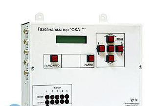 Russian carbon dioxide concentration level sensor
