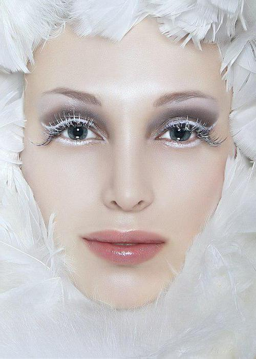 makeup for halloween snow queen