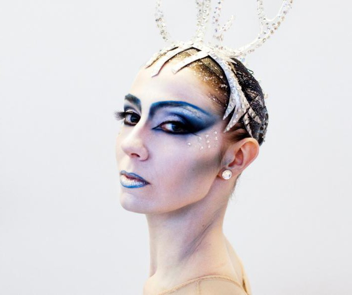 make-up snow queen do it yourself