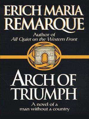 triumphal arch erich remark