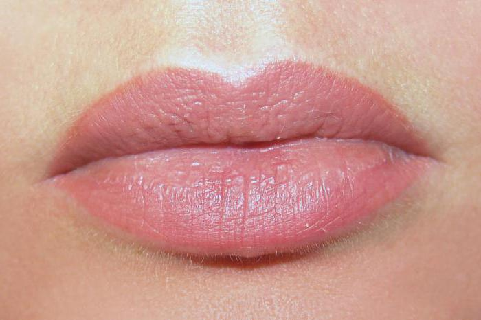 permanent lip makeup with shading