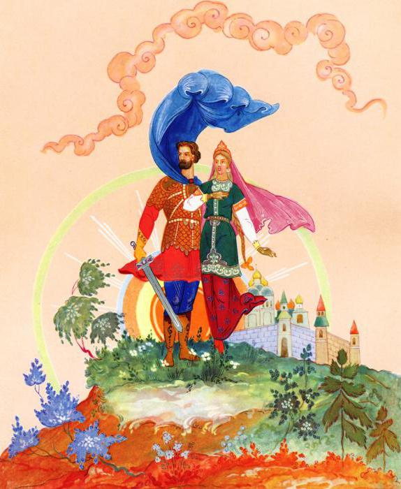 heroes of the poem ruslan and lyudmila