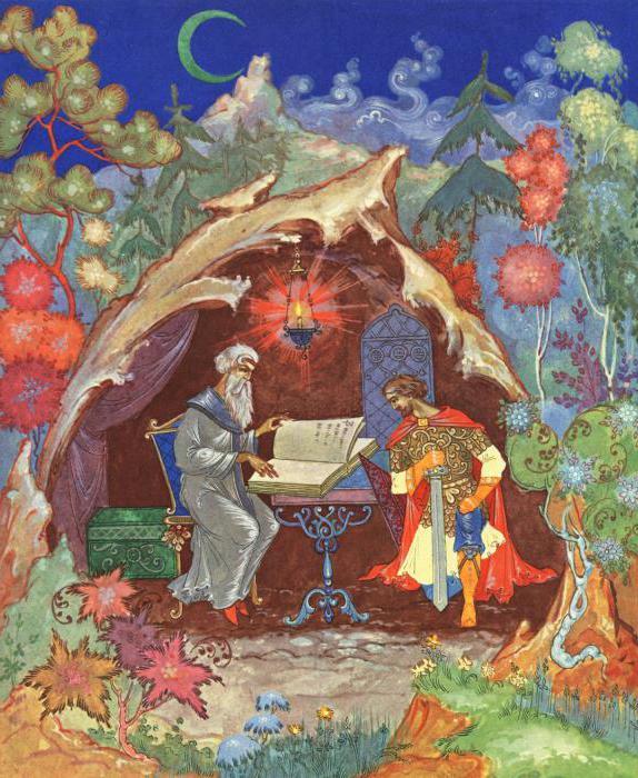 plot of the poem ruslan and lyudmila summary