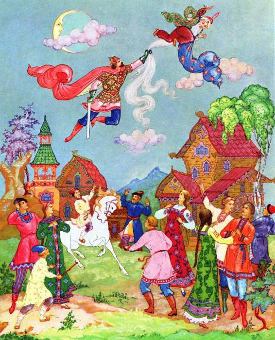 Pushkin's poem ruslan and lyudmila