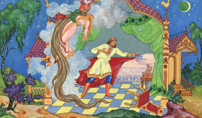 summary of the poem Pushkin Ruslan and Lyudmila