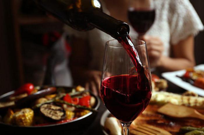Как правильно пить вино красное полусладкое