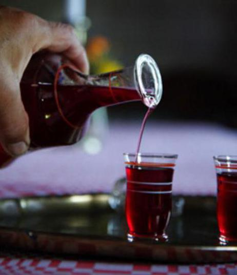 Wine from fermented jam