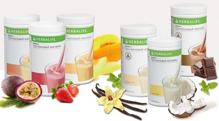 protein shakes slimming composition