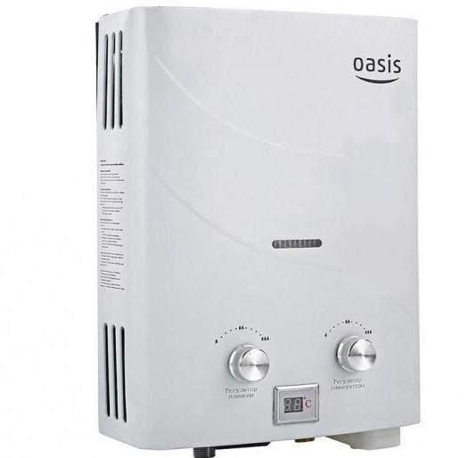 oasis ceramic gas water heater reviews