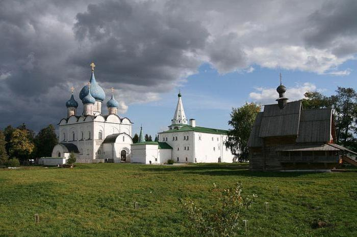 cities of Vladimir Suzdal principality