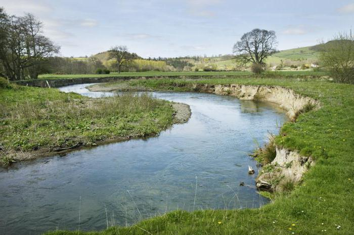 уклон реки