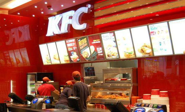 review about fast food chain kfc