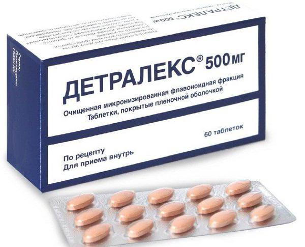 таблетки детралекс отзывы при геморрое