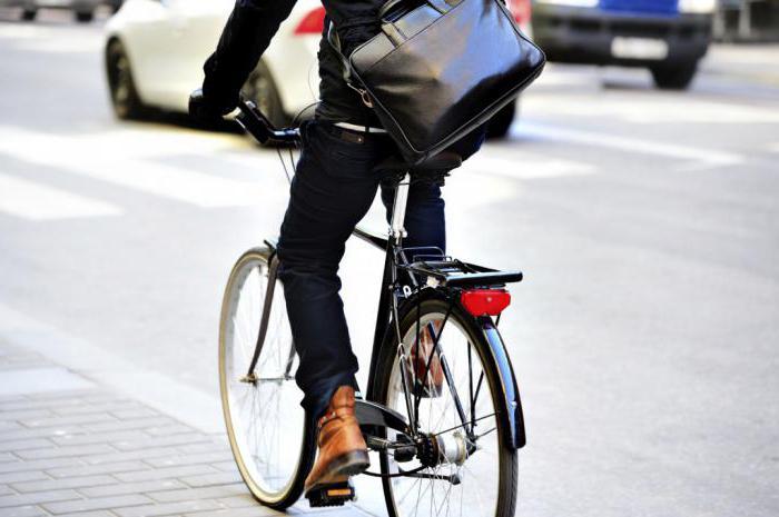 Катафот на велосипеде фото