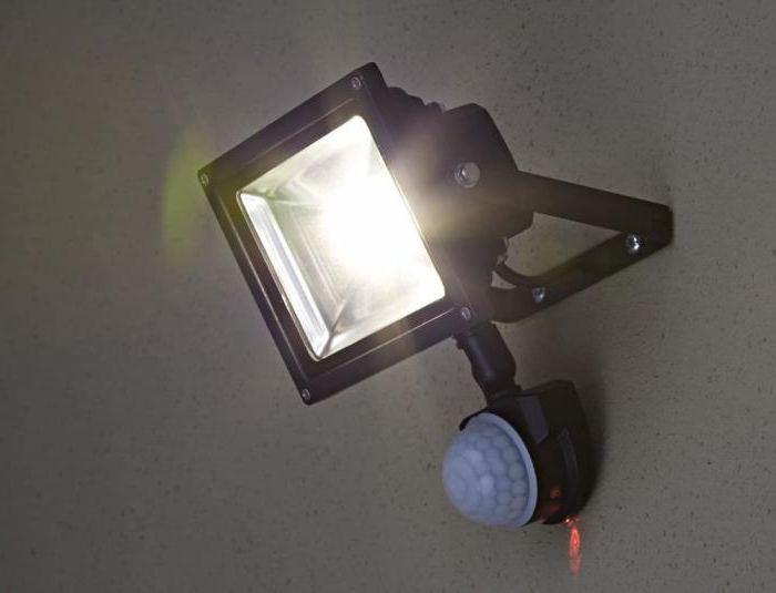 LED streetlight with motion sensor