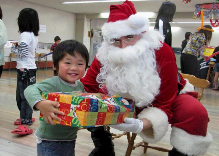 what is the Japanese Santa Claus