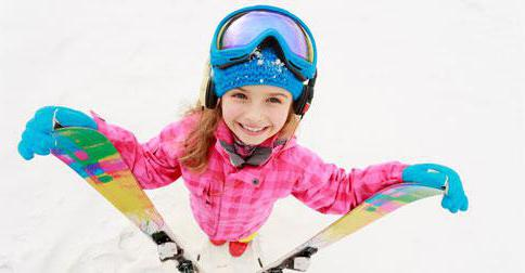 How to choose a ski child height