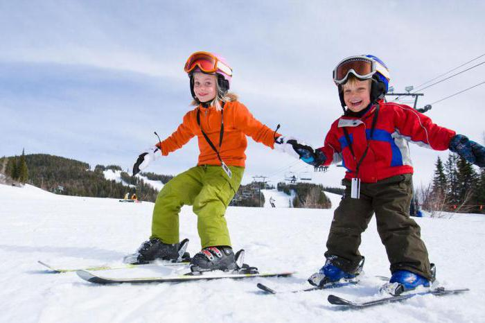 How to choose the right skis child height