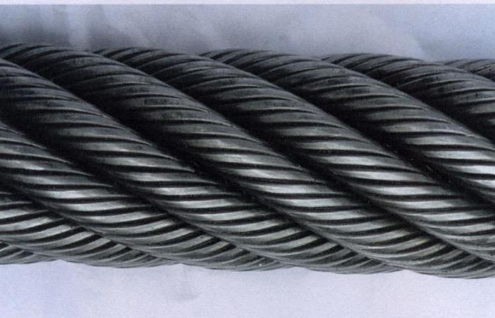 braid the end of the cable