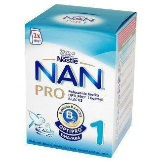 comparison of nan and nutrilon