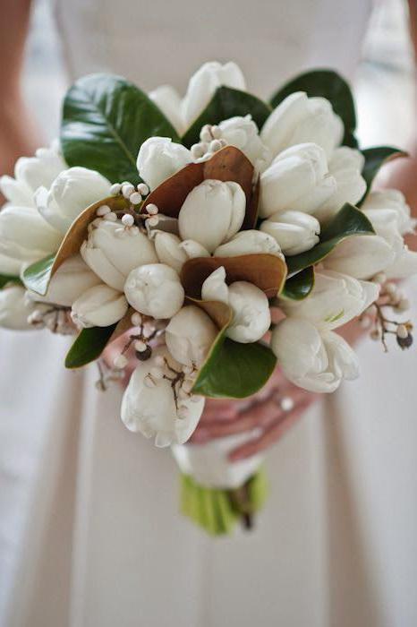 wedding bouquet of tulips do it yourself
