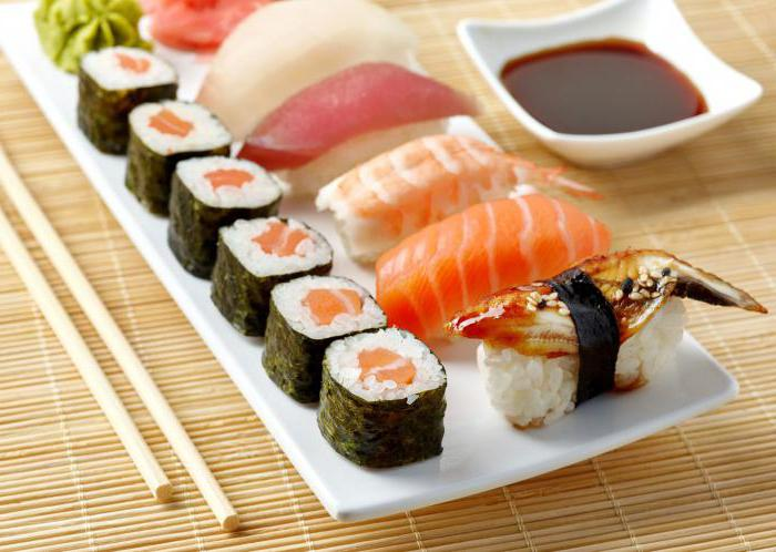 sushi types and names