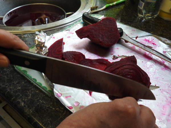 how to cook beets with garlic