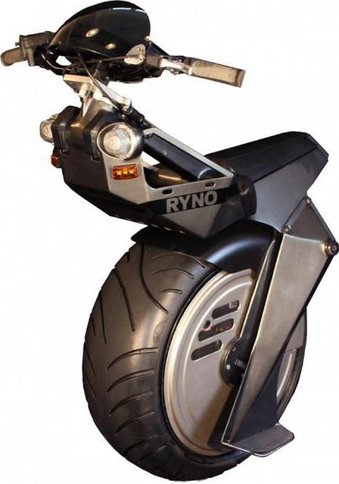how to make a one-wheeled motorcycle