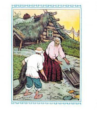литературно-методический анализ сказки о рыбаке и рыбке