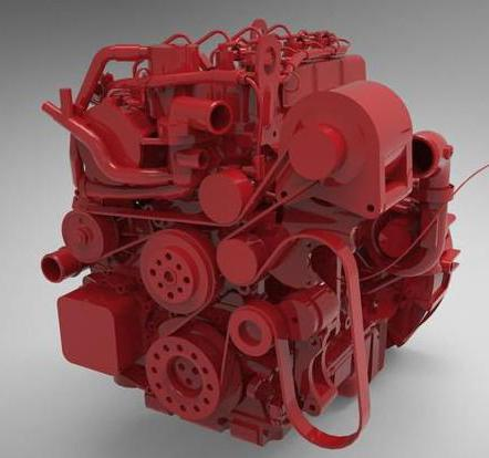 устройство двигателя камминз