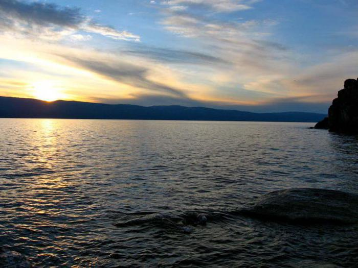 площадь озера байкал