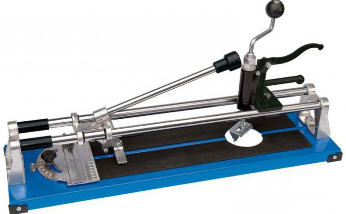 how to work tile cutter