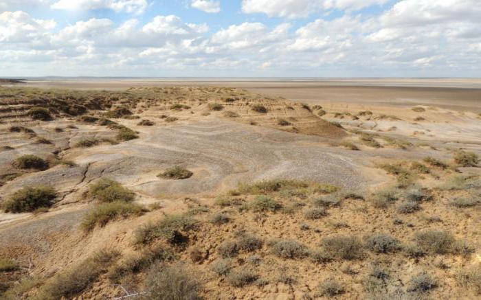 Bogdinsko Baskunchak Reserve Astrakhan Region