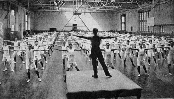 Gymnastics history of occurrence and development