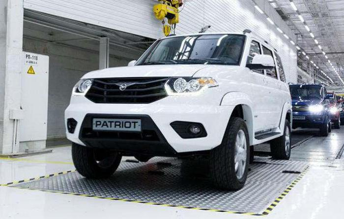 UAZ patriot 2017 with automatic transmission release date
