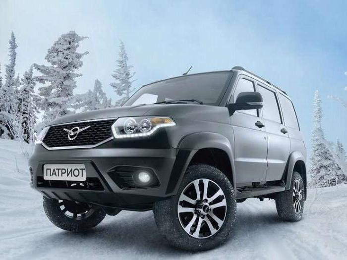 UAZ patriot with automatic transmission release date