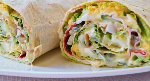 What to cook from thin pita bread quickly