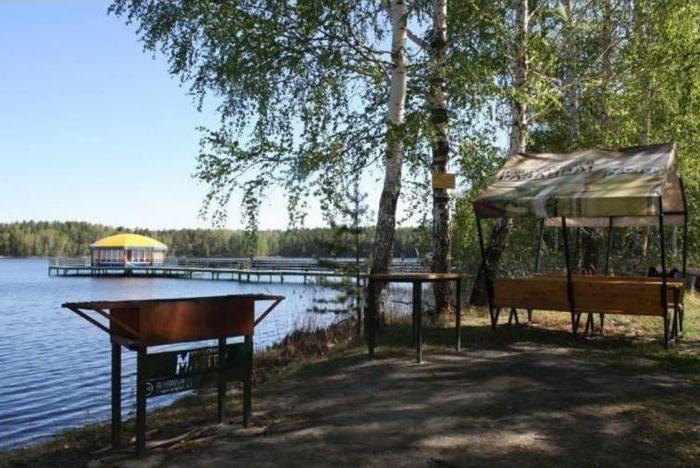 Alabuga Lake in Chelyabinsk