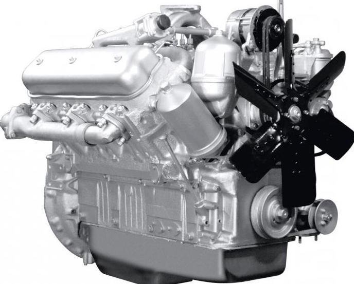 2183550 - Ттх двигателя ямз 238