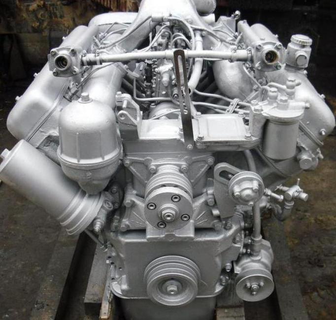 2183609 - Ттх двигателя ямз 238