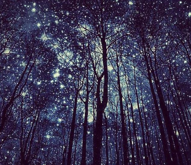 почему звезды светятся ночью