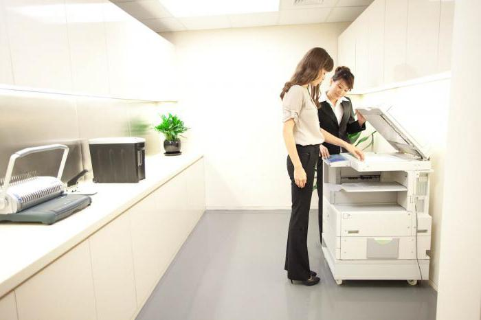 Принцип печати струйного и лазерного принтера
