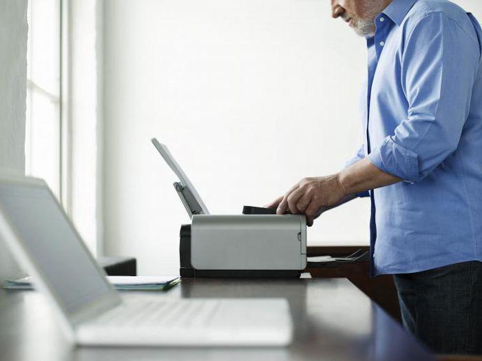 Свойства принтера: принцип печати - струйные и лазерный